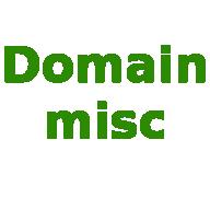 domainmisc